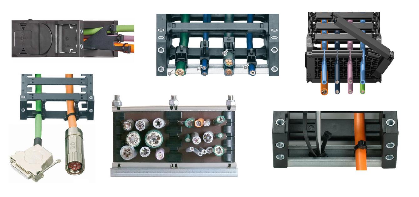 Mocowanie przewodów elektrycznych. Czym są elementy odciążenia ciągu?