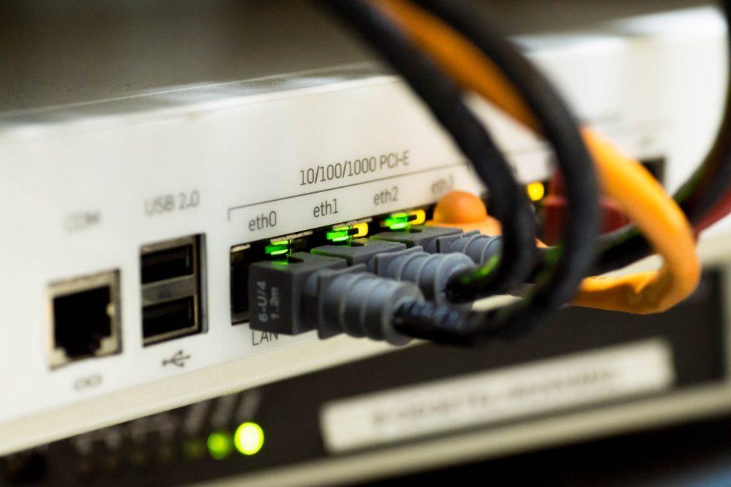 przewód ethernet