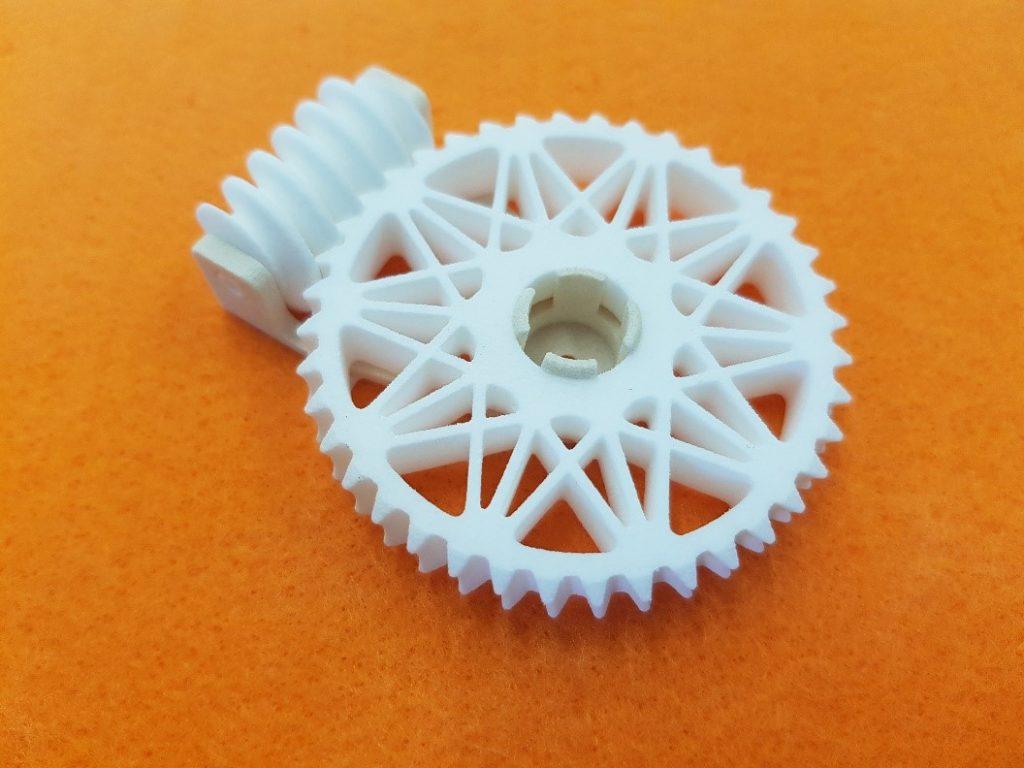koło zębate - przekładnia ślimakowa