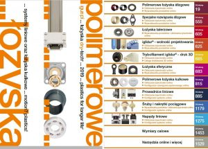 Katalog łożysk polimerowych – łożyska ślizgowe, liniowe, toczne