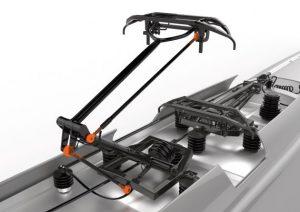 Metalowo-polimerowe głowice przegubowe igubal® 2.0. dla urządzeń kolejowych