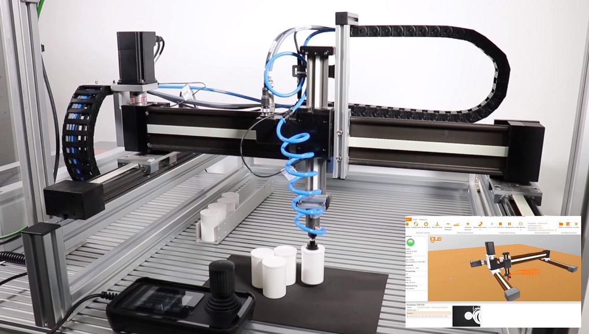Roboty kartezjańskie drylin. Wprowadzenie do świata automatyzacji
