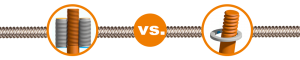 Walcowanie vs frezowanie obiegowe gwintu. Produkcja śruby pociągowej w skrócie