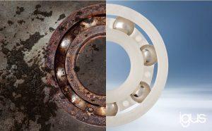 Alternatywne łożyska kulkowe z polimeru: igus® przekonuje