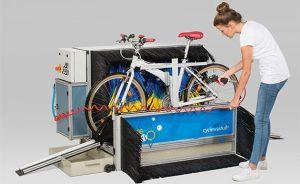 Jak myć rower? System mycia rowerów stawia na polimerowe łożyska kulkowe igus®